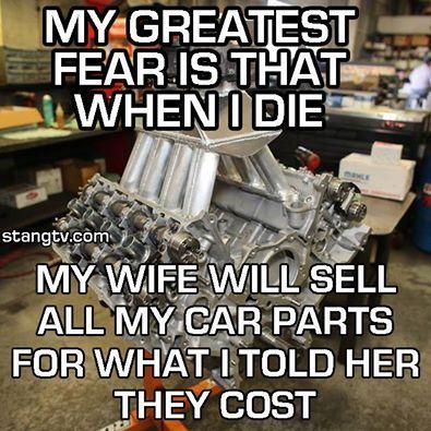 All My Car Parts Car Humor Funny Car Memes Car Jokes Race Car