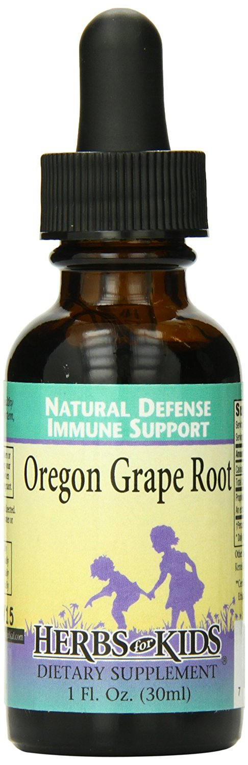Herbs for Kids Oregon Grape Root, 1 Ounce -- Special  product just for you. See it now! : Healthy Herbal Supplements