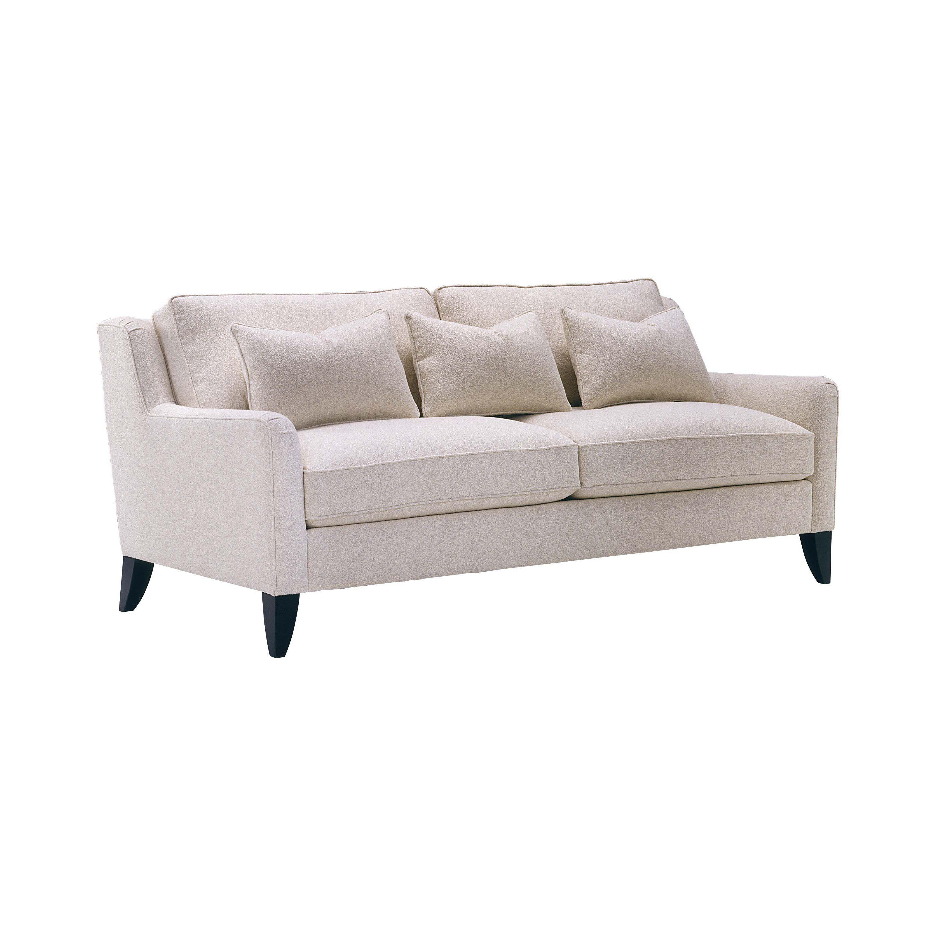 Charmant Lazar Retro Bellisimo White Fabric Sofa | From Hayneedle.com