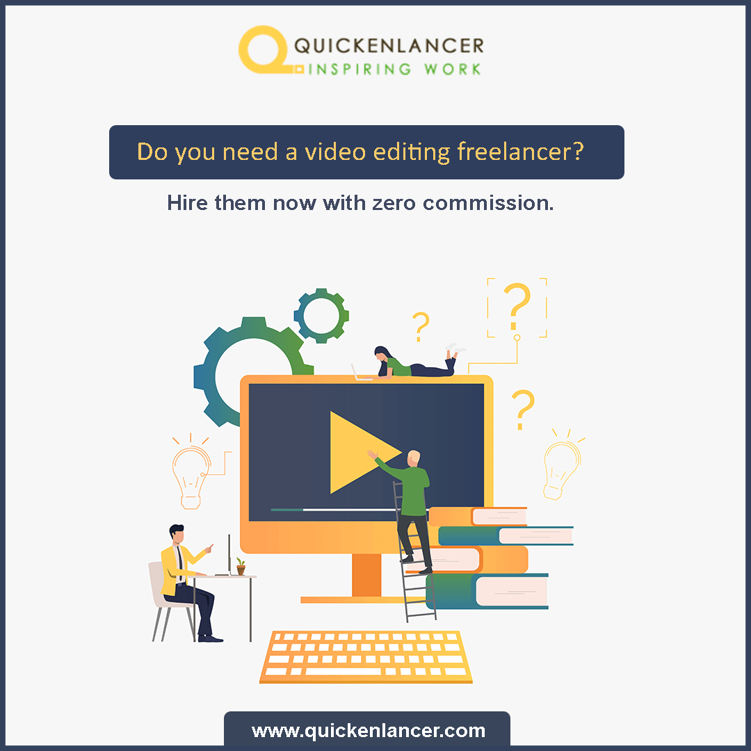 Hire a freelancer from Quickenlancer and get your work