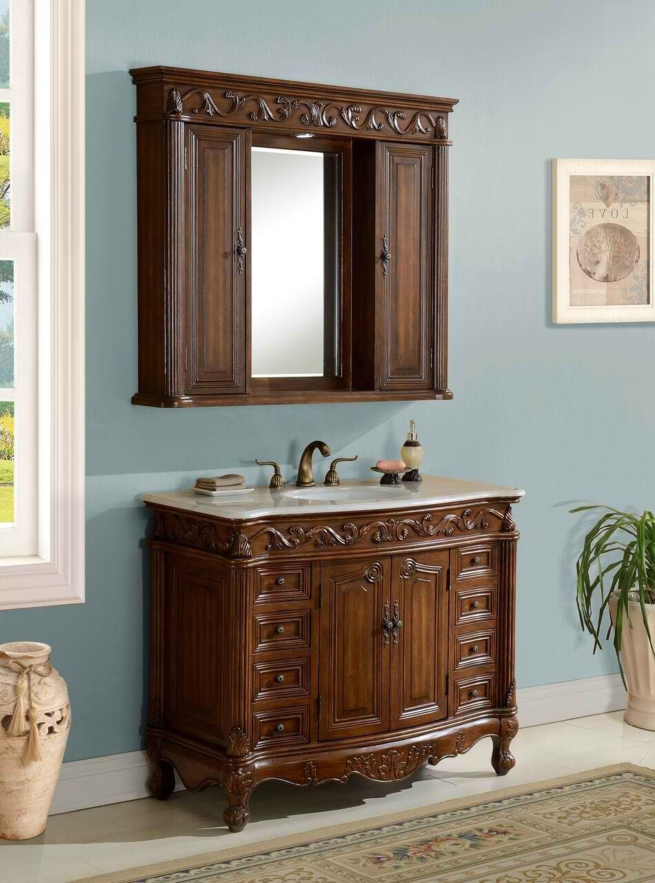 42 In 2020 Antique Bathroom Vanity Bathroom Vanity Wood