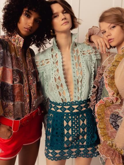 0c3d570b22 Zimmermann Backstage  Spring 2019 Collection