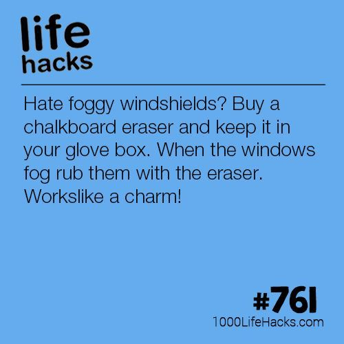 Get Rid Of Foggy Windshields is part of Organization College Life Hacks - Improve your life one hack at a time  1000 Life Hacks, DIYs, tips, tricks and More  Start living life to the fullest!