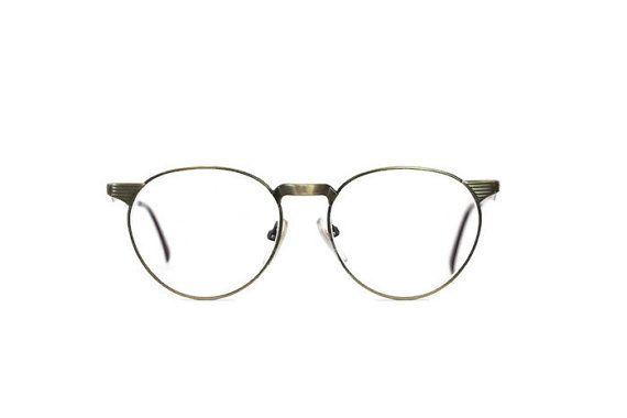 old gold glasses