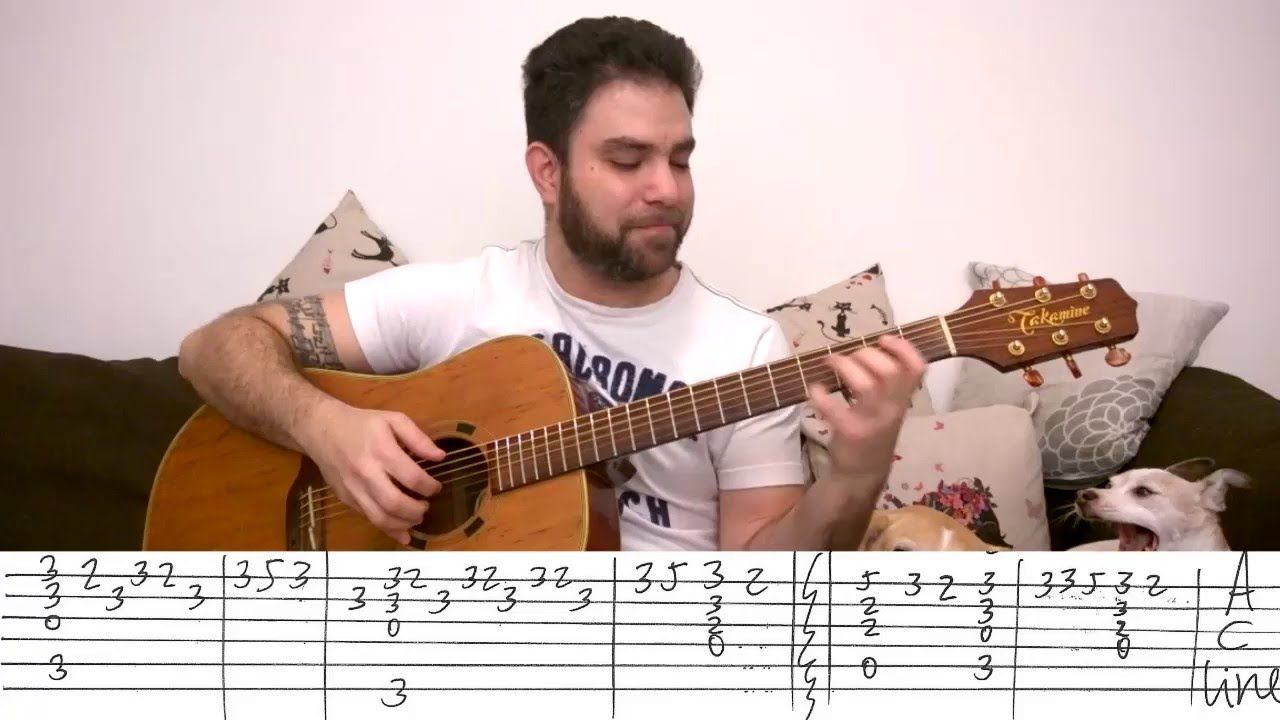 Sweet Child Omine Fingerstyle Tutorial To Do Pinterest Guitars