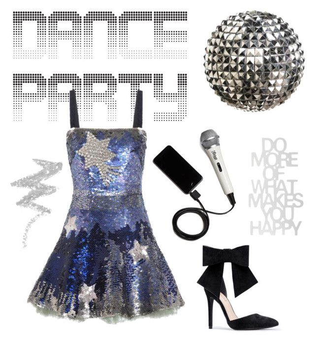 """""""Dance the Night Away"""" by explorer-14317880571 ❤ liked on Polyvore featuring Valentino, Chloé, iRig and NYX"""