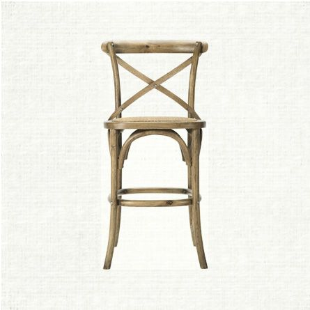 This Beautifully Constructed Solid Oak Kensington Barstool