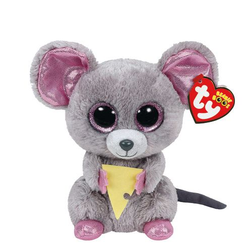 petite peluche squeaker la souris ty beanie boos claires pinterest gros yeux peluche gros. Black Bedroom Furniture Sets. Home Design Ideas