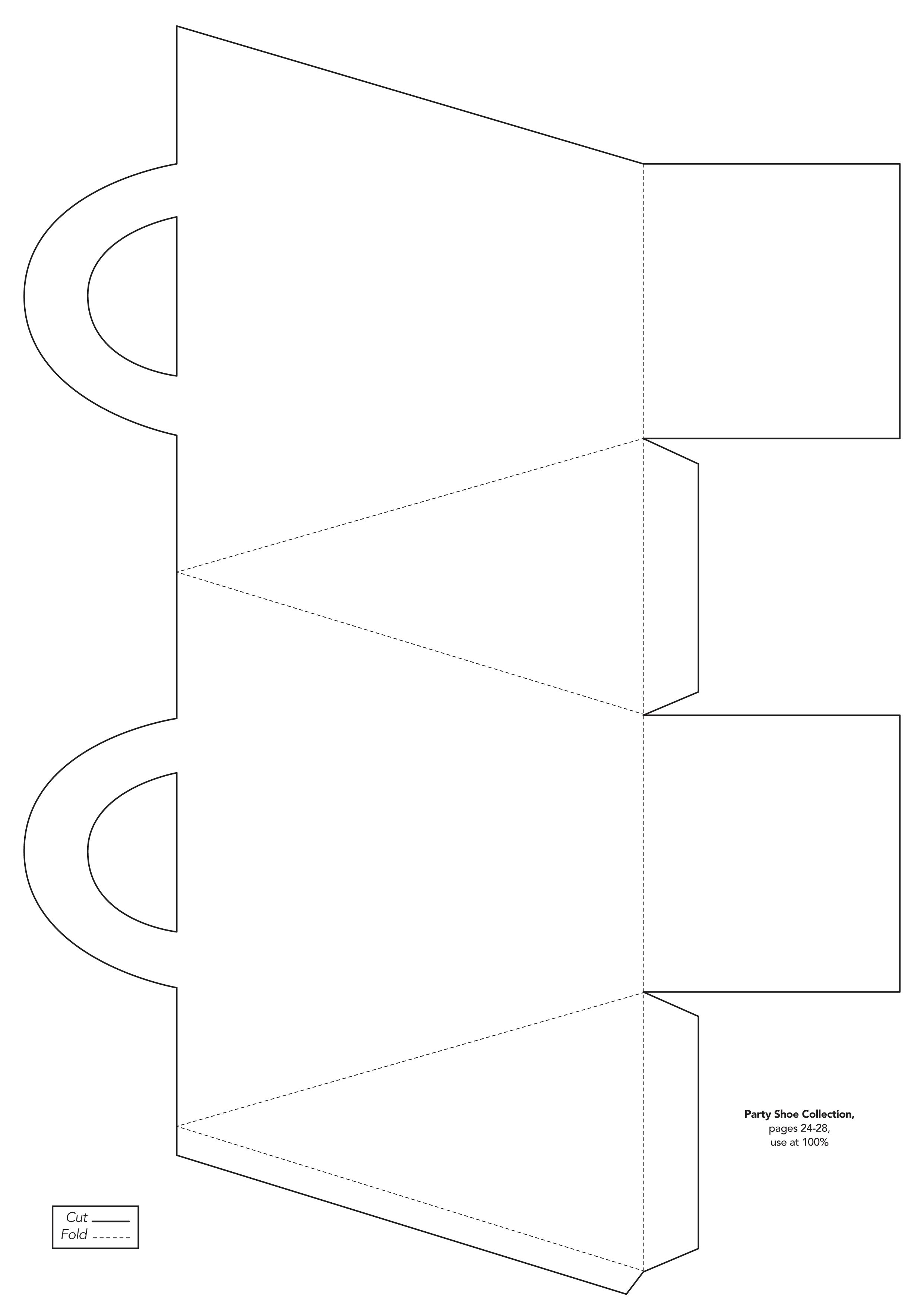 Free box template from www.papercraftinspirationsmagazine