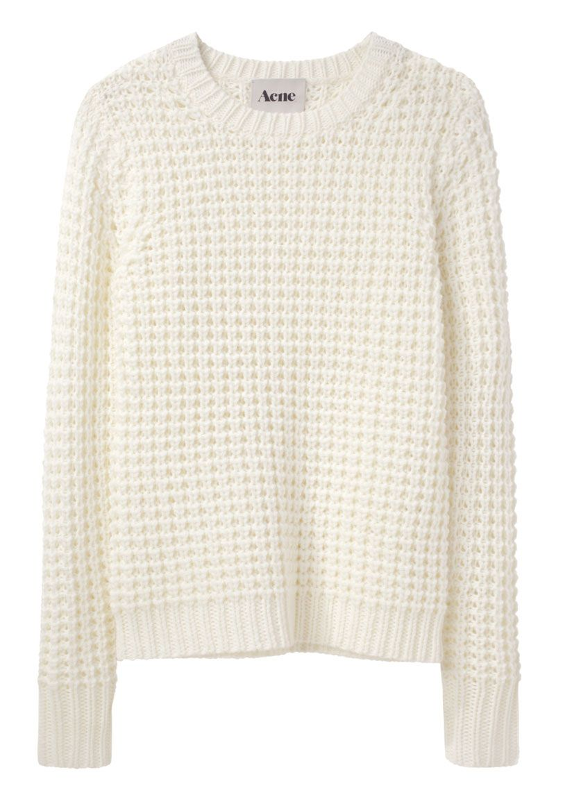 The perfect basic.  Acne / Lina Pinapple Sweater