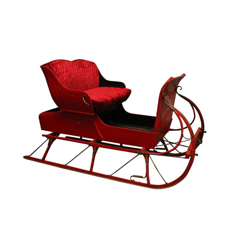 Outdoor Christmas Sleigh For Sale.Life Size Santa Sleigh Can Be Used As A Prop Or Even A Set