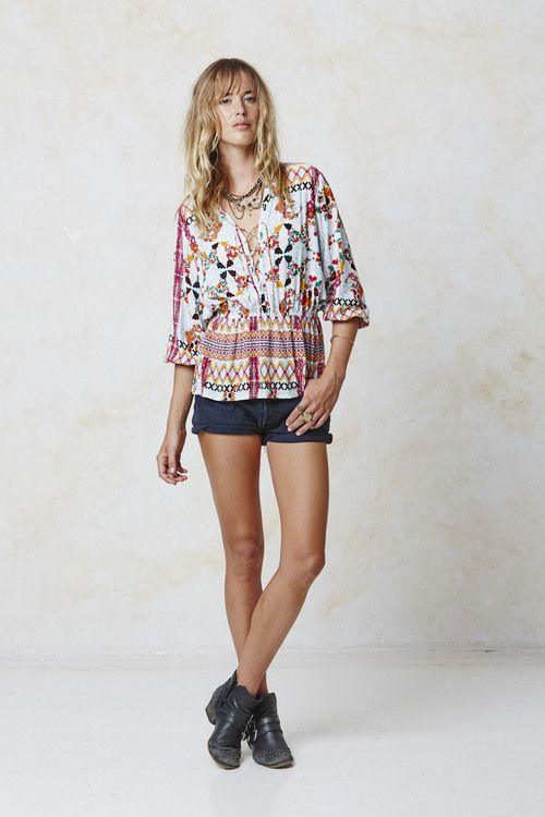 #AugusteFrank Bohemia Day Top
