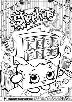 Superb Shopkins Coloring Pages Printable | Shopkins Strawberry Colouring Pages