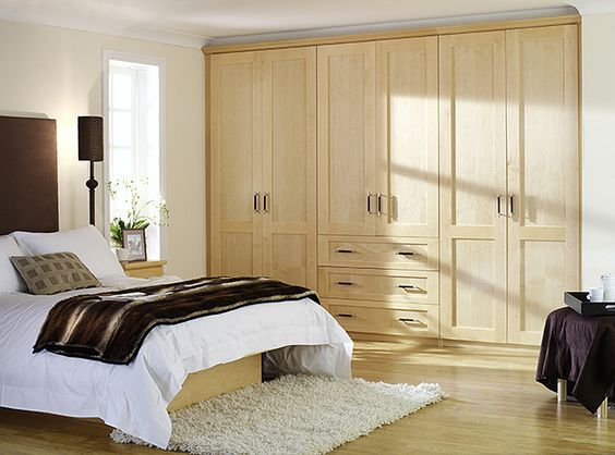 100 Wooden Bedroom Wardrobe Design Ideas (WITH PICTURES) | Furniture ...
