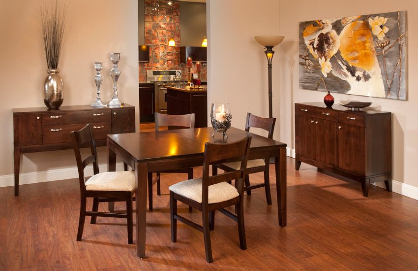 Platinum Dining Collection Contemporary Dining Room Furniture