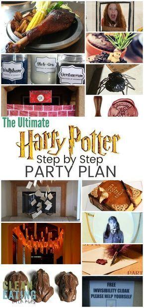 Photo of So veranstalten Sie eine magische Harry-Potter-Geburtstagsfeier + {Free 8 Page Party Plan Printable) – Sauberes Essen mit Kindern