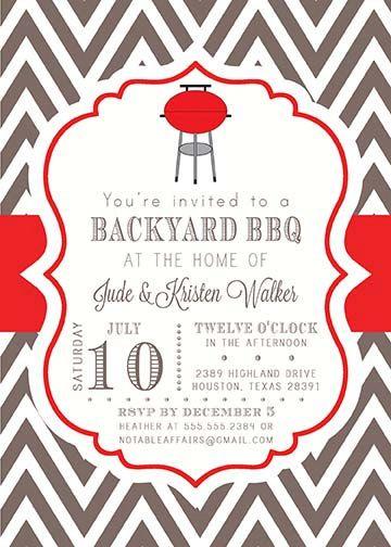Back u003e Gallery For u003e Backyard Bbq Invitation Template - bbq invitation template