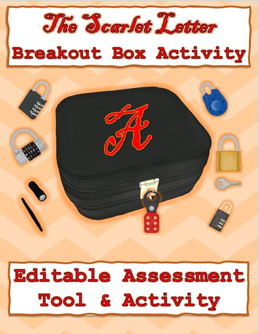 Scarlet Letter Breakout Box Breakout boxes, Scarlet