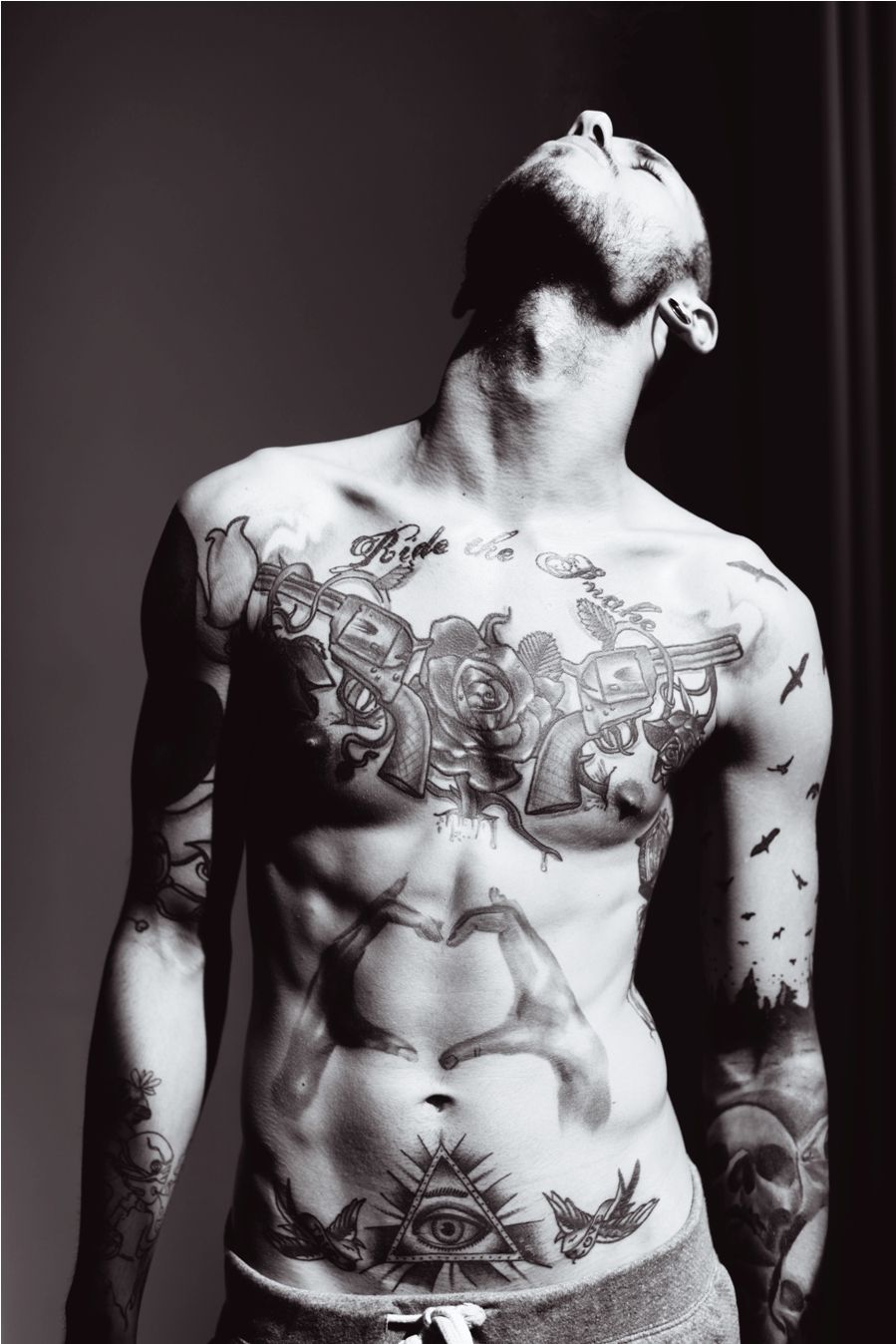 Tattoos for men love donut know who he is but i love a guy with tattoos  for header