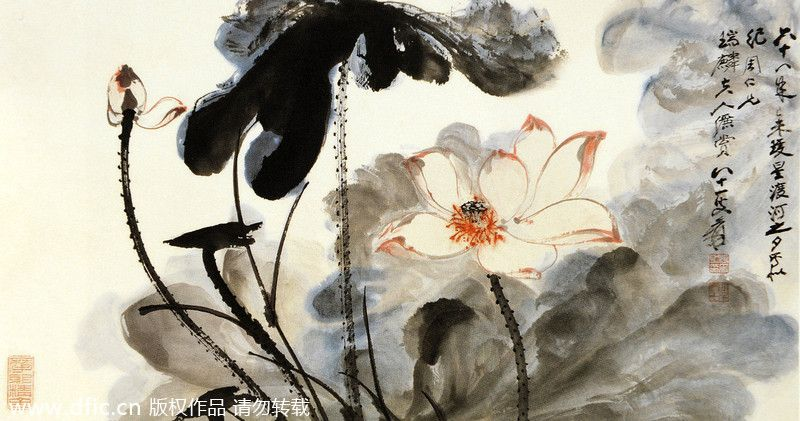 Culture Insider Famous Chinese Lotus Paintings Famous