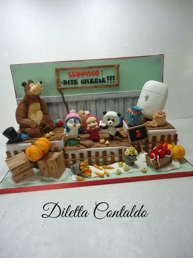 Masha and the Bear by Diletta Contaldo