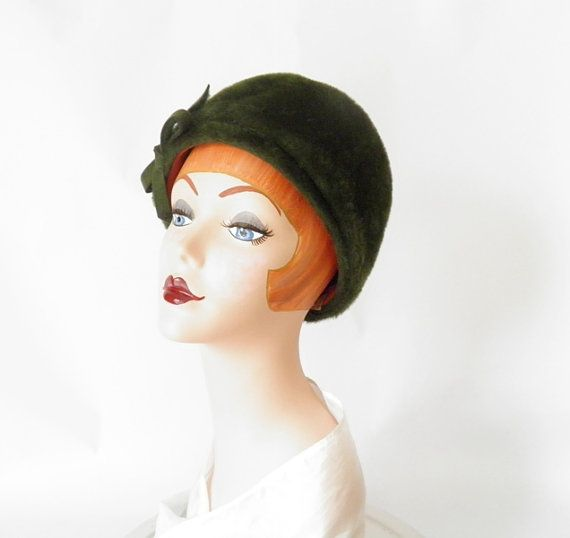 Vintage 1960s woman s hat Evelyn Varon Italy by TheVintageHatShop 03a77f5d276