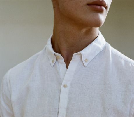 Linen Sketching Shirt // Ouur by Kinfolk