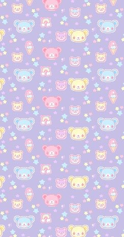 background, bear, cute, grunge, kawaii, pastel, pastel