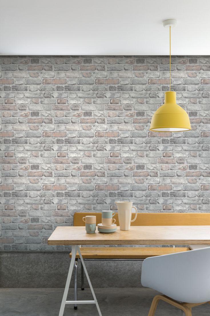 Vintage Brick By Albany Pale Pink Brick Wallpaper Wallpaper Direct Brick Wallpaper Living Room Brick Effect Wallpaper Brick Wallpaper Bedroom