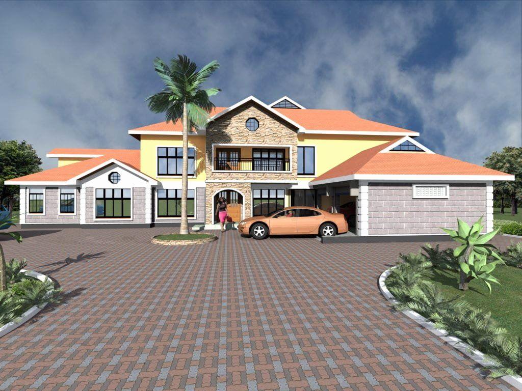 House Plans 6 Bedrooms New 6 Bedroom Maisonette House Plans Designs House Design Bedroom House Plans Kerala House Design