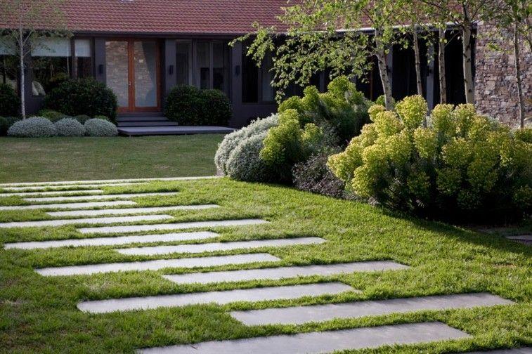 Senderos Y Caminos De Piedra Para El Jardin Jardines Senderos De Piedra Senderos De Jardin