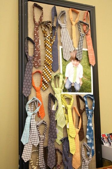 craft booth - tie display
