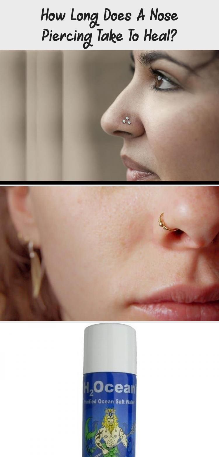 How Long Does A Nose Piercing Take To Heal Piercing Every Type Of Piercing Heal Nose Piercing Nose Piercing Healing Piercing