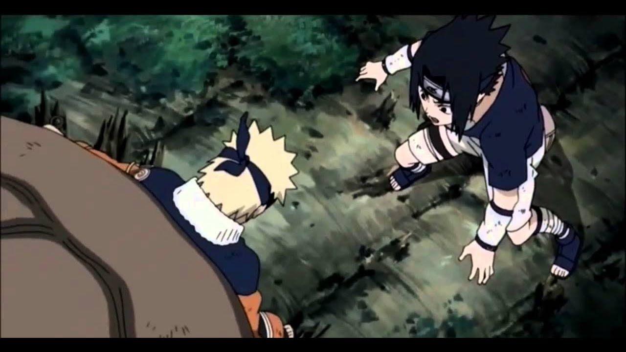 Naruto saves sasuke sakura from orochimaru sakura and