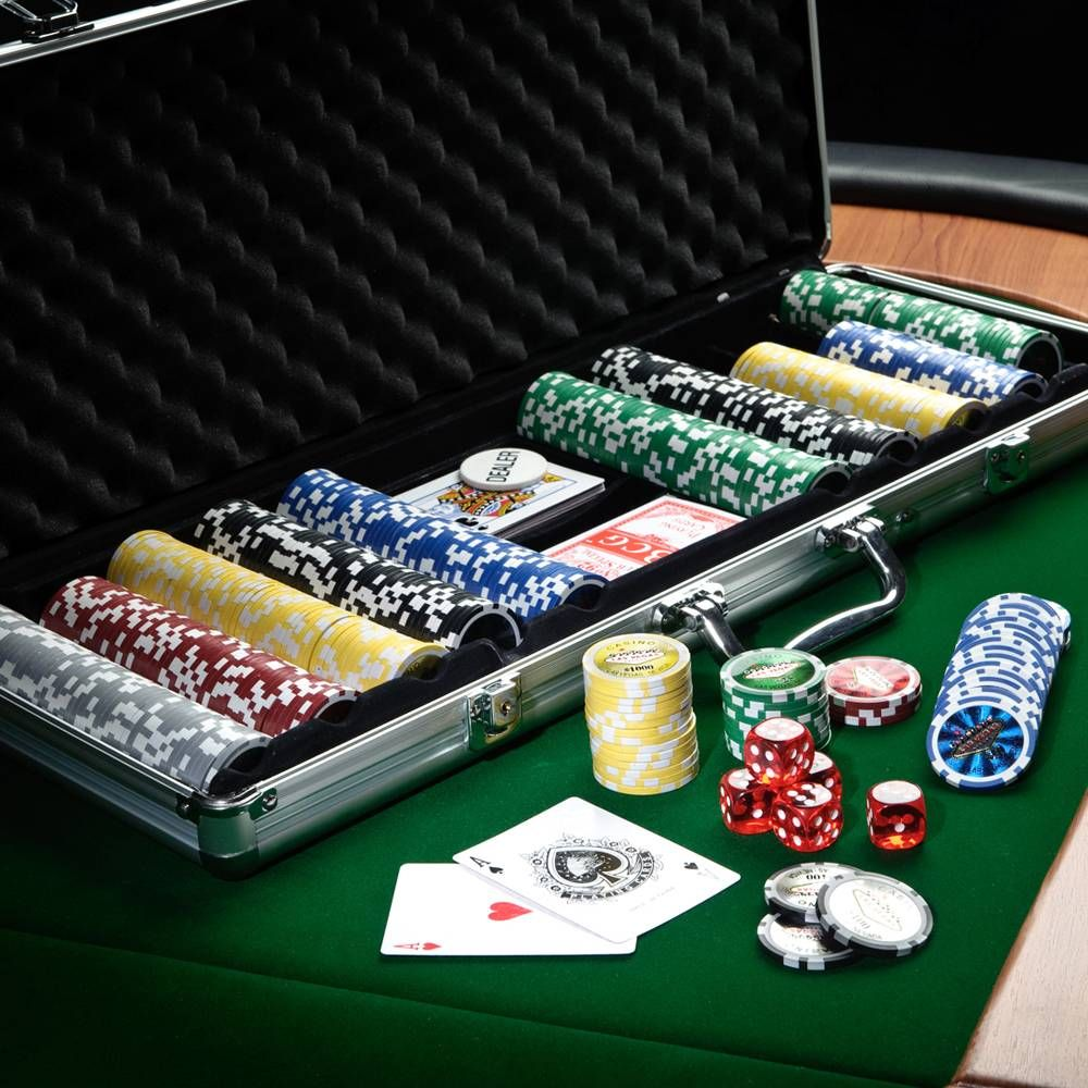 The first chip trick to learn is the poker chip shuffle