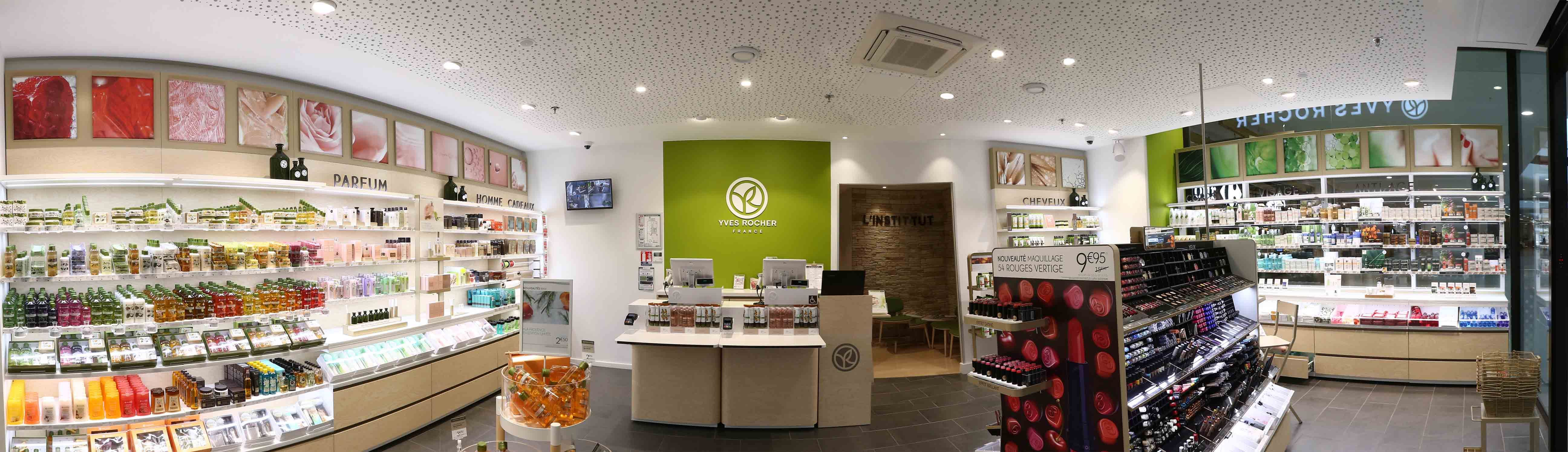 Travaux Agencement Complet Boutique Institut De Beaute Yves Rocher