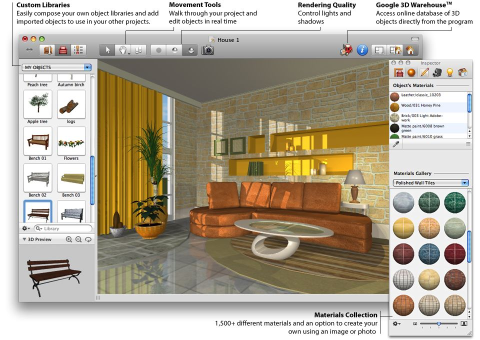 Picture of design your own home using best house design Free 3d interior design software