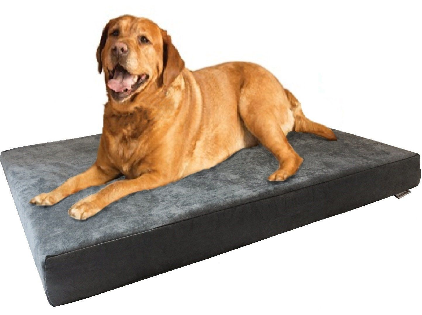 Dogbed4less Jumbo Orthopedic Gel Memory Foam Pet Bed with