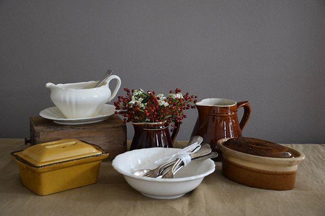 Mooi aardewerk...www.brocante-by-emilie.nl...geniet van de dag... #emilienijman #brocantebyemilie #webshop #pottery #old #oldstuff #oldstyle #brocante #mypicturetoday #kitchentools #kitchen #onlinestore #webwinkel  Yummery - best recipes. Follow Us! #kitchentools #kitchen