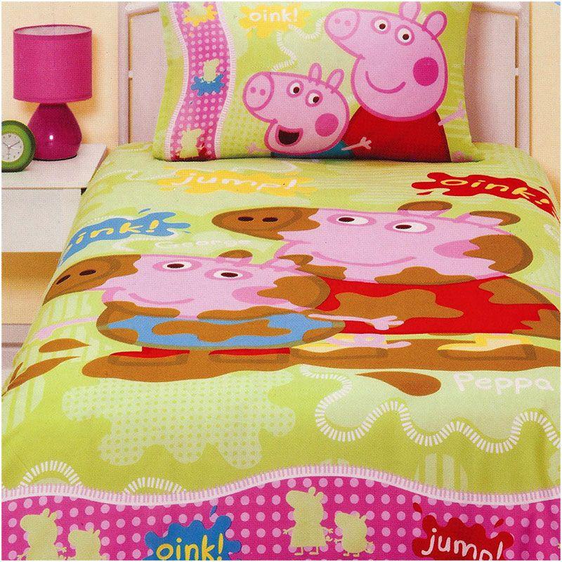 Peppa Pig And George Bedding Set Http Www Kidsbeddingdreams Cid 72 Peppapig