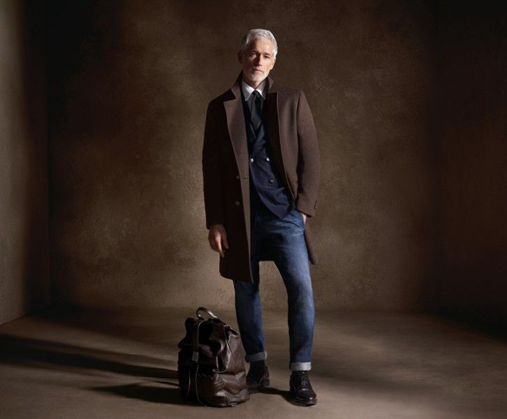 Look 10 from brunello cucinelli, proof older can be better