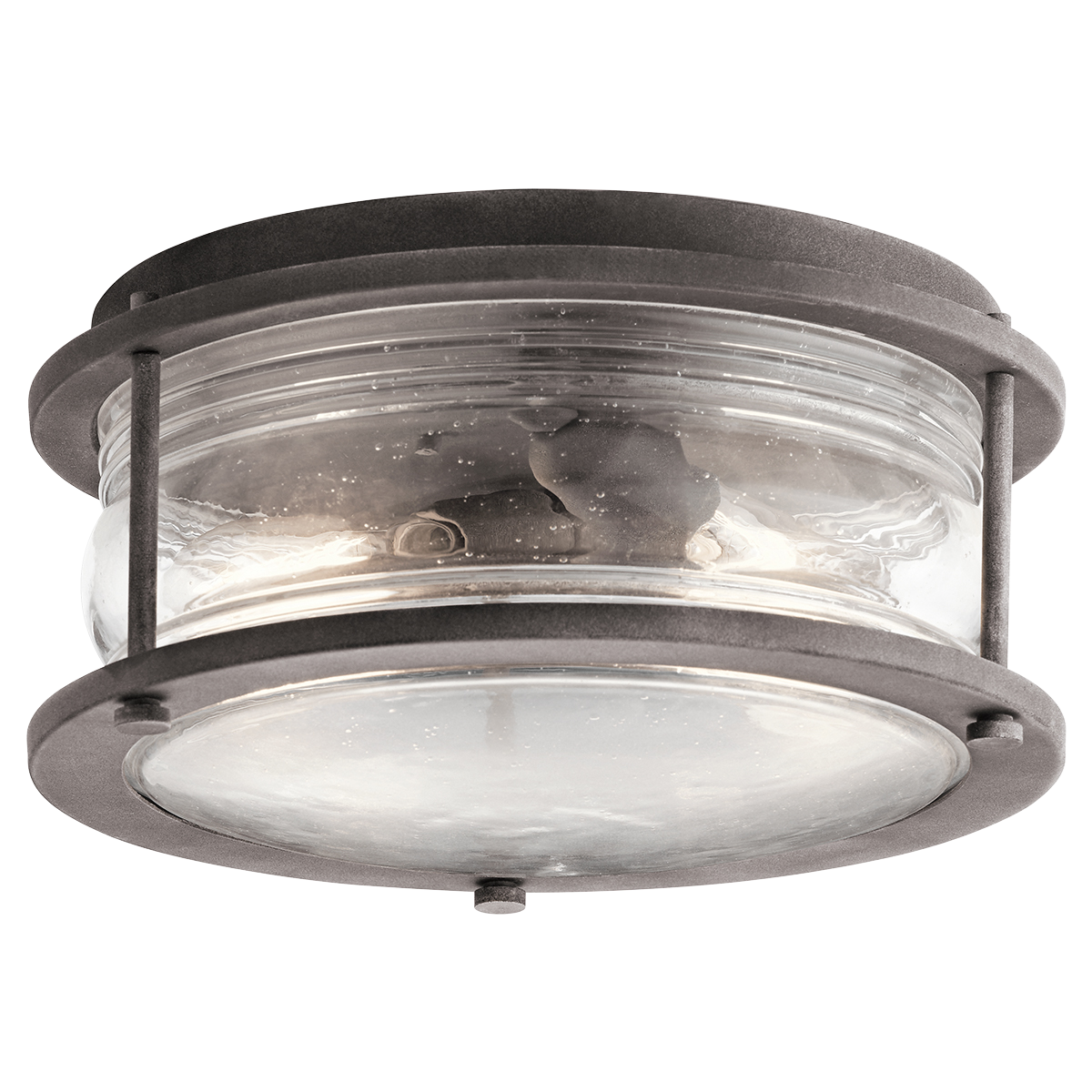 Ashland bay 2 light outdoor ceiling light in weathered zinc wzc shop kichler lighting ashland bay 2 light outdoor ceiling light at lowes canada find our selection of outdoor flush mount lighting at the lowest price arubaitofo Choice Image