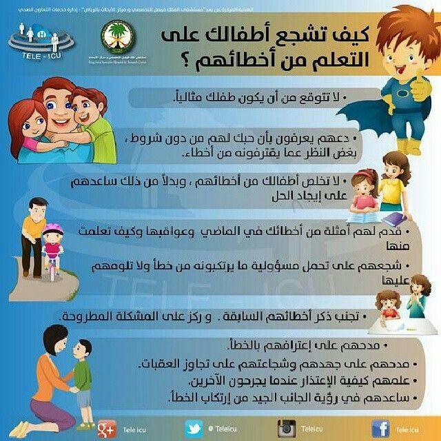 تعلم من أخطاءك Baby Education Kids Behavior Childrens Education