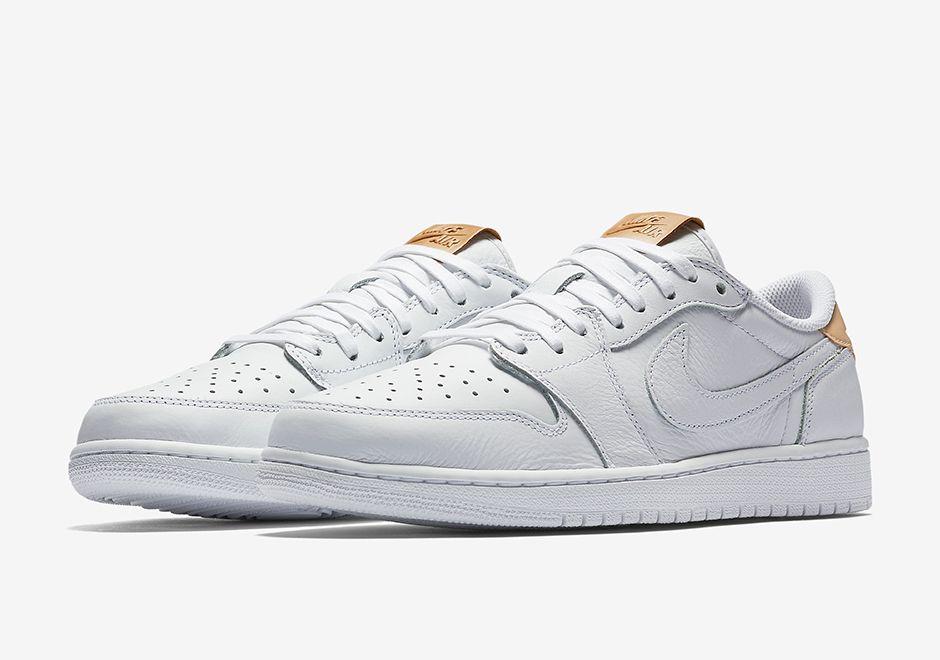 buy popular 0f3ee d2f33 Air Jordan 1 Low OG Premium White Vachetta Tan   SneakerNews.com