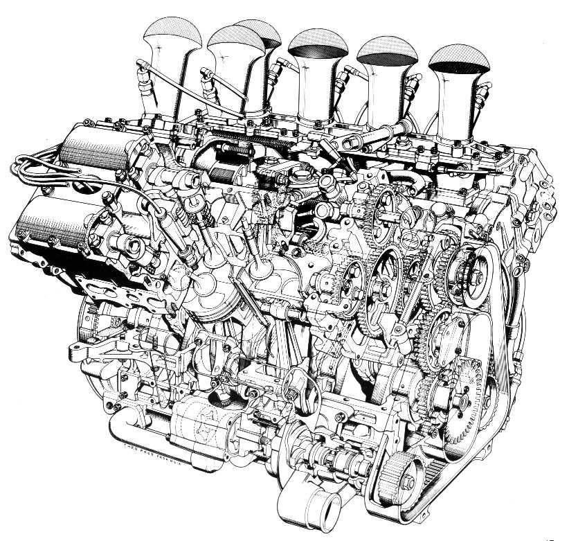 Racing cars are beautiful things sleek pure and purposeful – Diagram Of A Formula 1 Race Engine