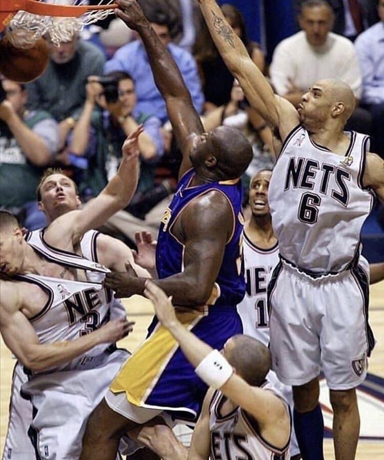 Shaq dunking on all 6 nets sports Shaq, Shaquille o