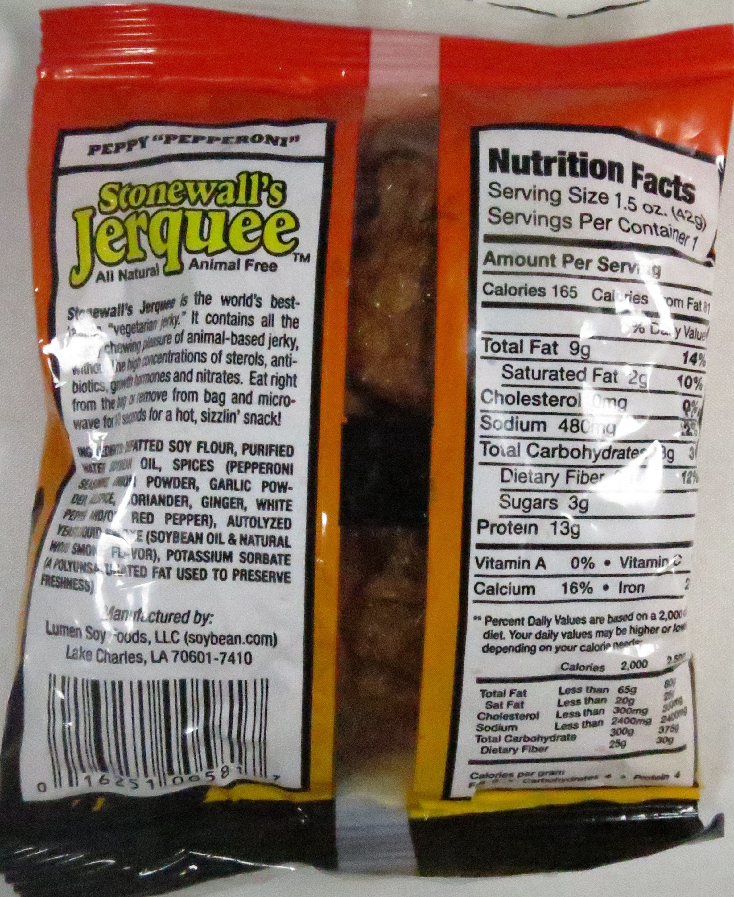 Discover How Stonewall S Jerquee Peppy Pepperoni Vegan Jerky Fared In A Jerky Review Http Jerkyingredients Com 2015 10 21 Stonew Vegan Jerky Jerky Vegan