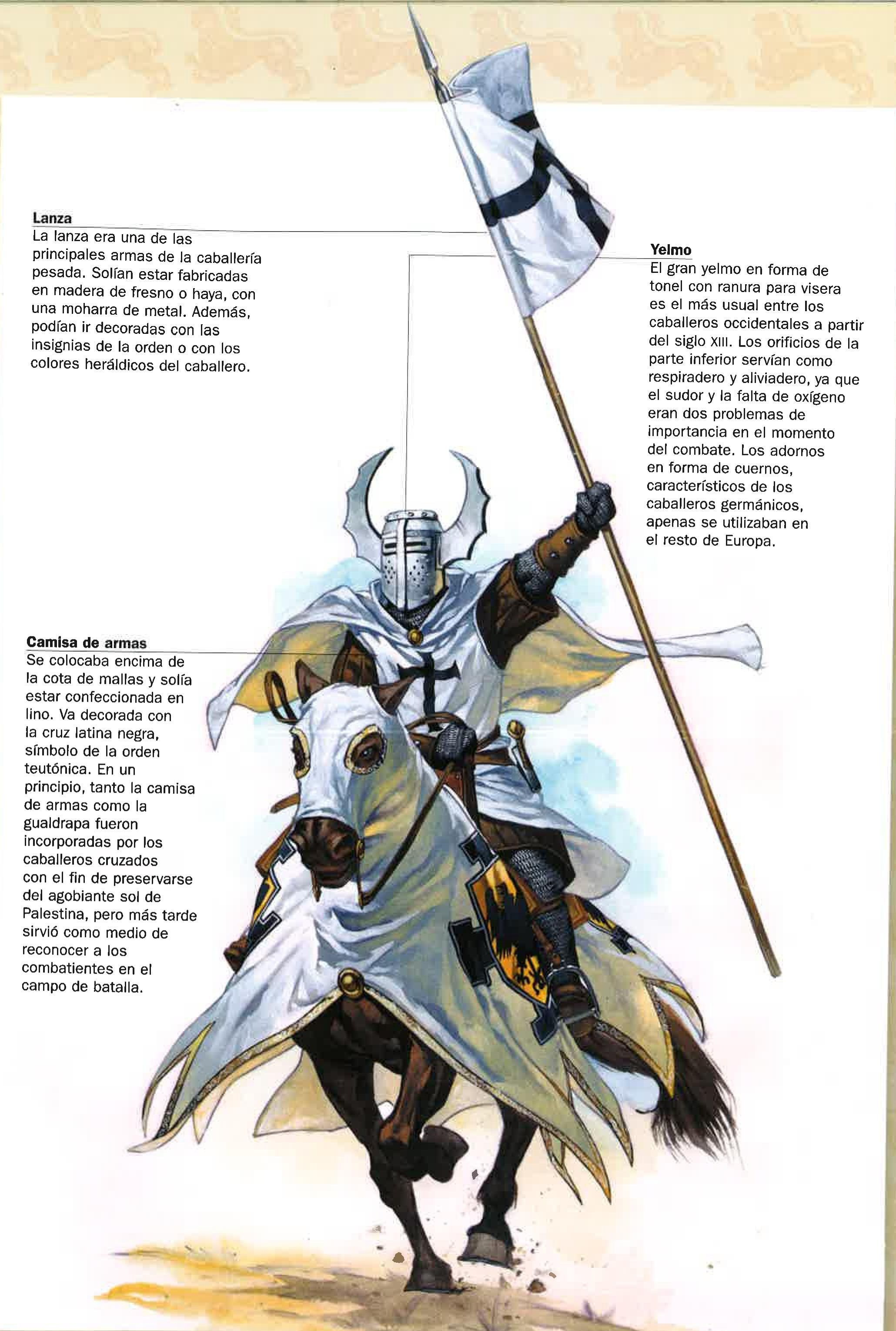 Teutonic crusader