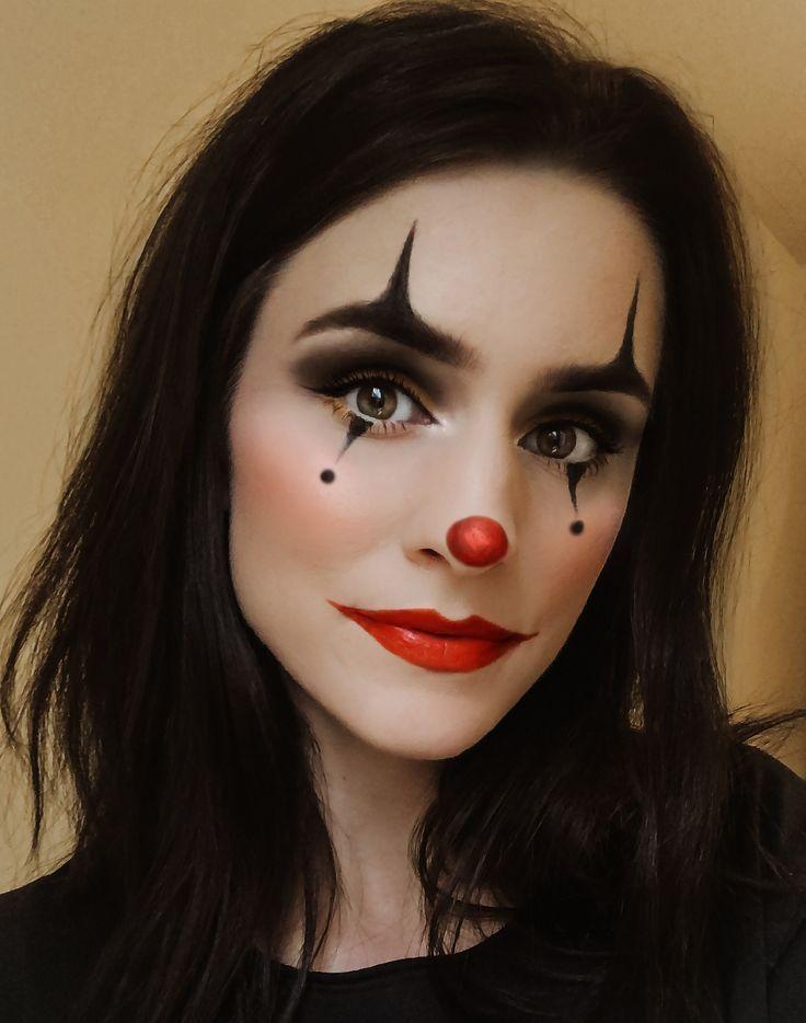 Eventos De Halloween 2020 Clown #Halloween #Makeup #simple Simple clown halloween makeup