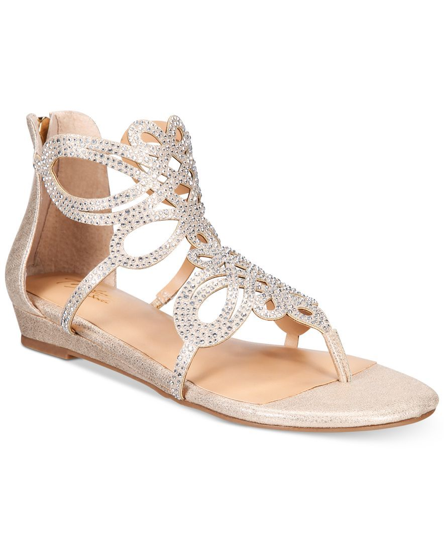 09f9e2178961 Thalia Sodi Laylan Scallop Wedge Sandals